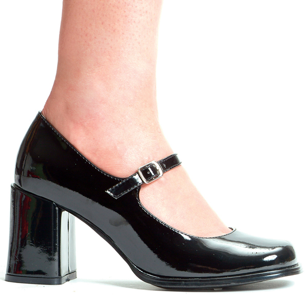 3 Inch Heel Mary Jane Pump