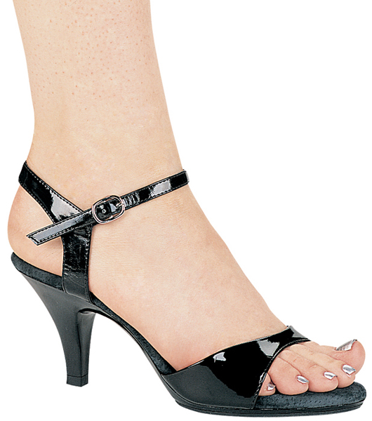 3 Inch Stiletto Heel Open Toe Sandal